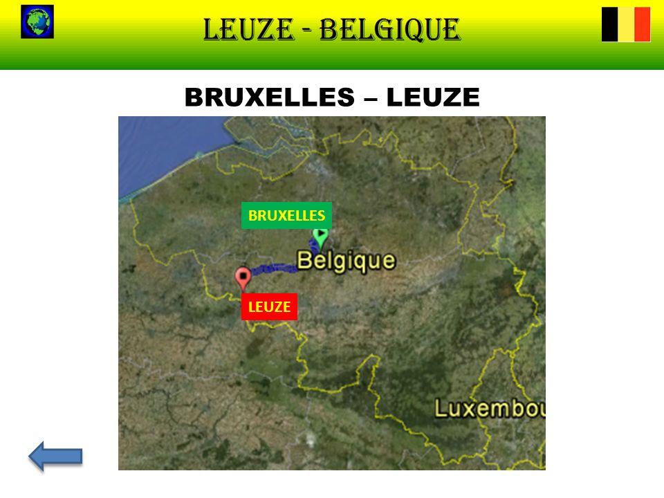 UNE PRÉSENTATION DE LEUZE Létymologie de Leuze provient de l adjectif latin Lutosus, a, um signifiant «marécageux, boueux».