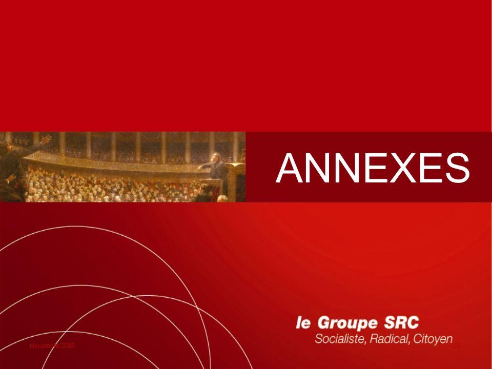 Novembre 2008- 20 - ANNEXES