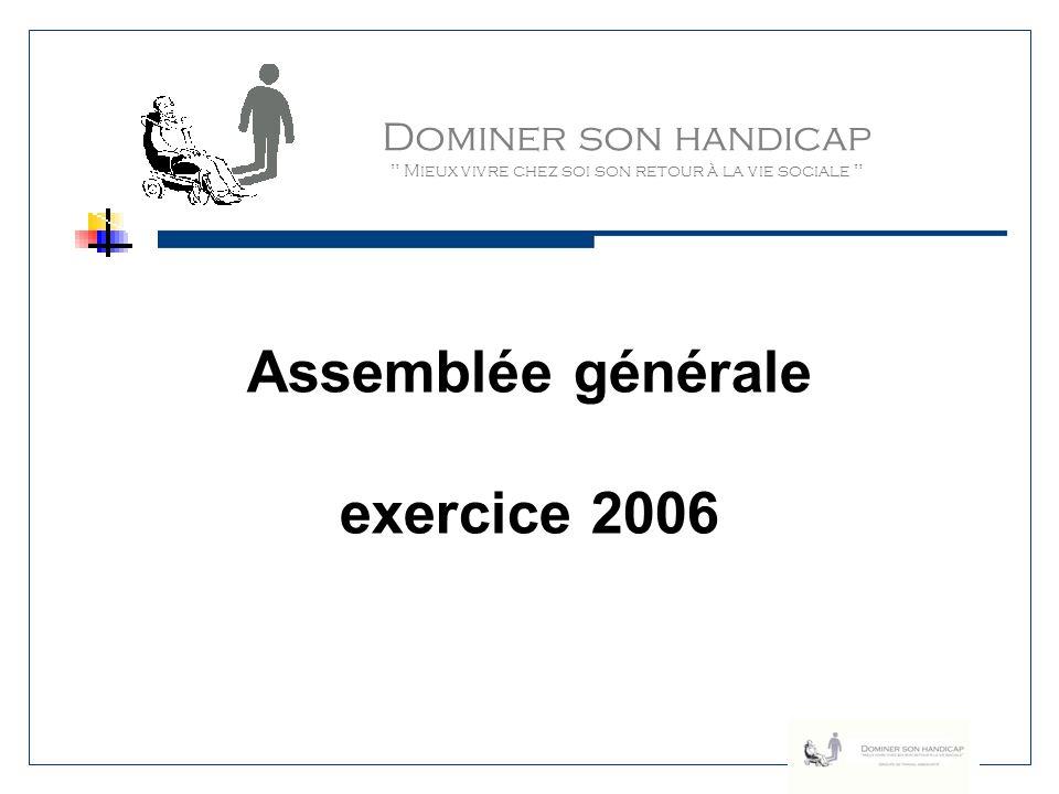Dominer son handicap Mieux vivre chez soi son retour à la vie sociale Quelques repères (2) Poursuite de notre participation au groupe accessibilité de la Ville de Poitiers.
