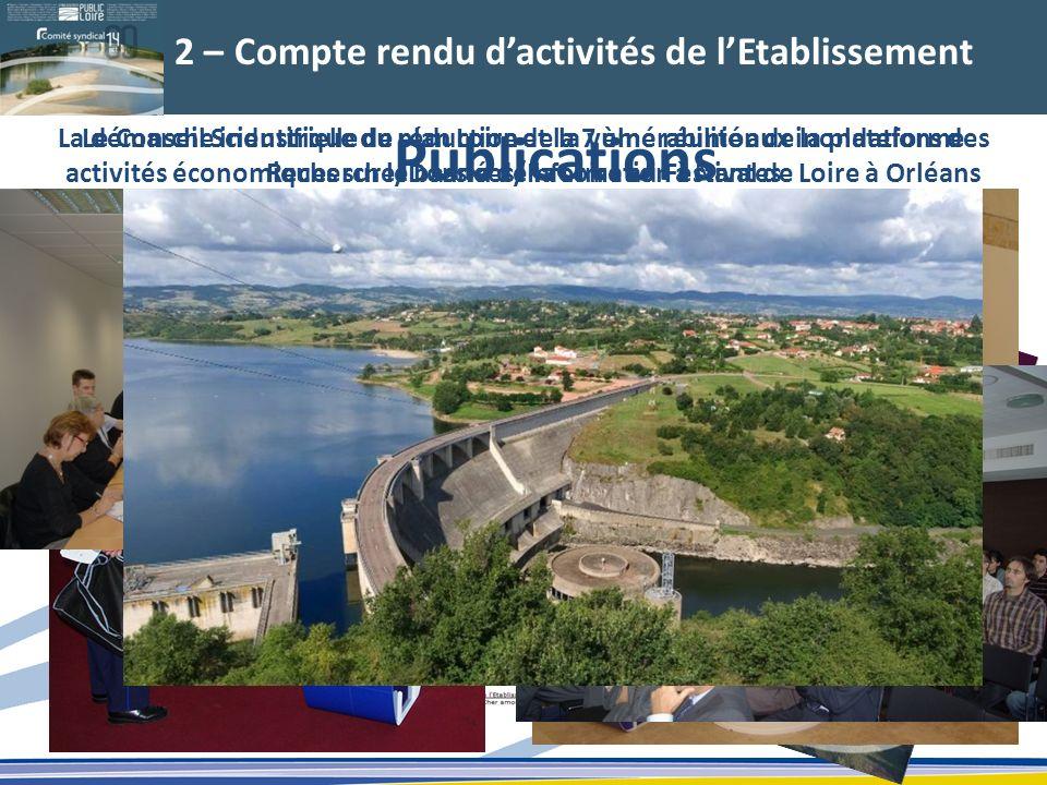 2 – Compte rendu dactivités de lEtablissement Publications La démarche industrielle de réduction de la vulnérabilité aux inondations des activités éco