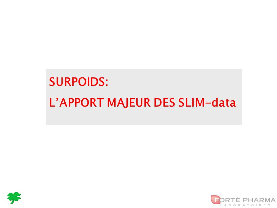 21 SURPOIDS: LAPPORT MAJEUR DES SLIM-data