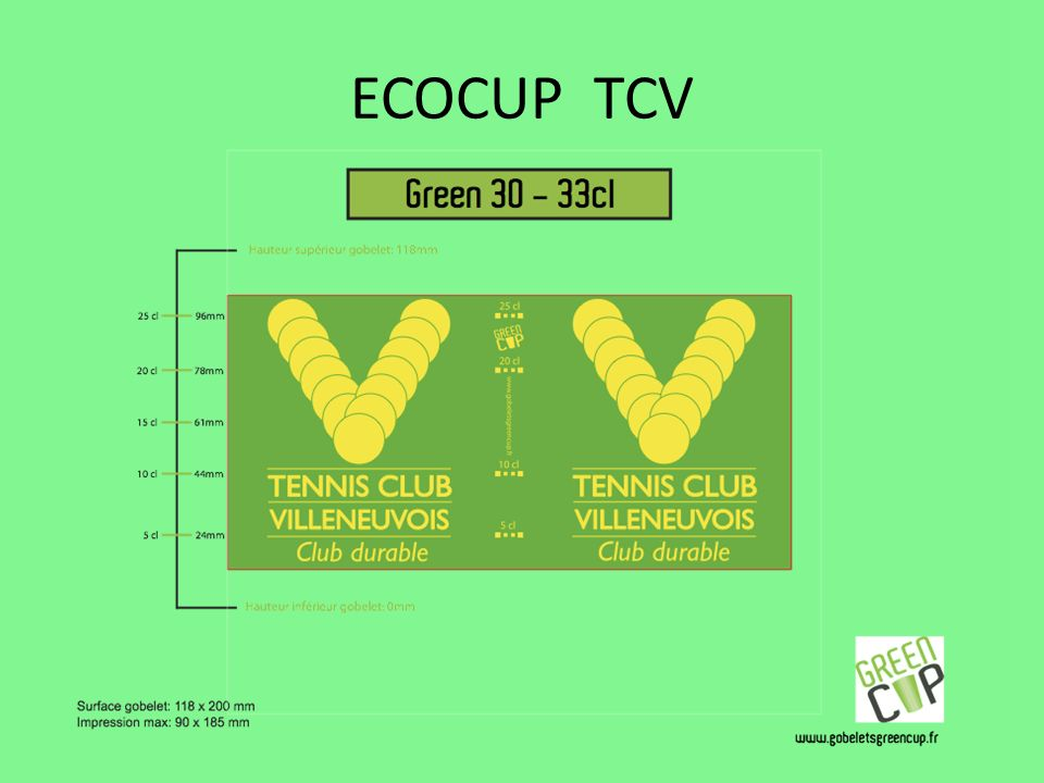 ECOCUP TCV