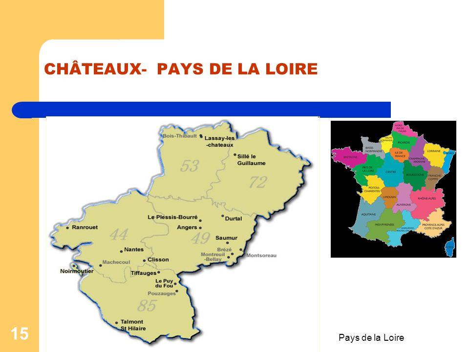 Pays de la Loire 14 Fiche de travail no:2 I. Trouve le mot juste pour compléter les informations ! Nantes est une …(1) française de l'…(2) de la Franc