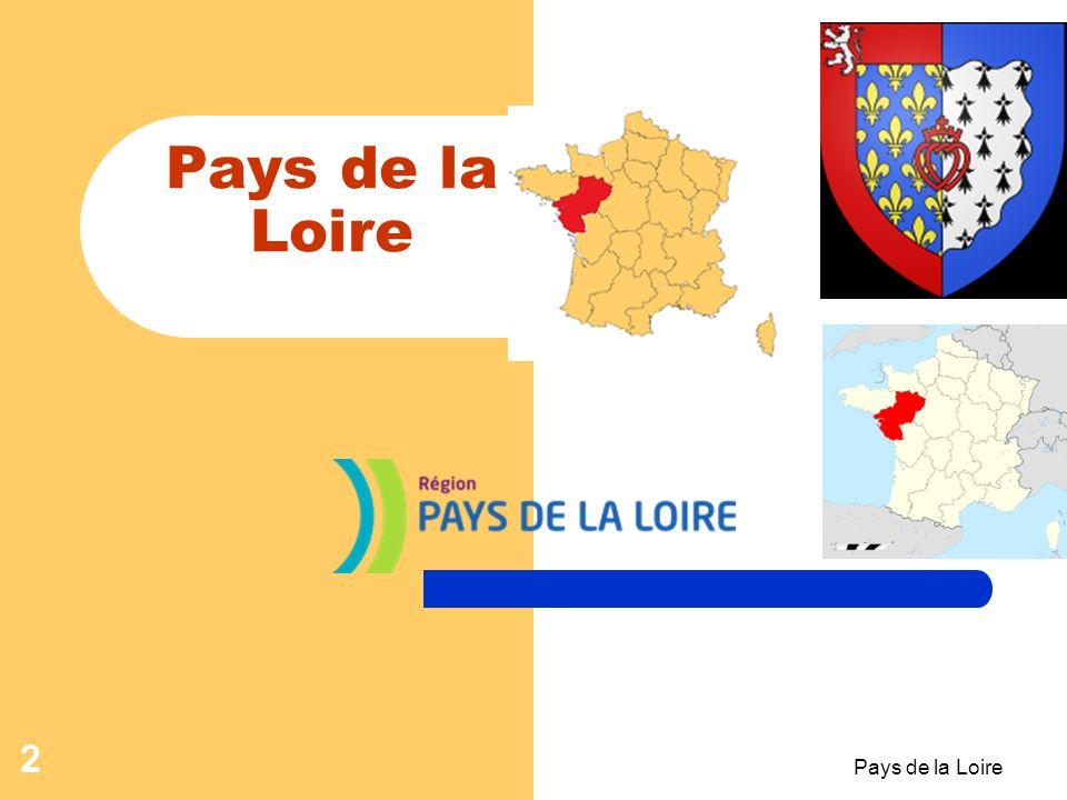 Pays de la Loire 1 La France et ses régions Pays de la Loire -Leçon- Pays de la Loire -Leçon-