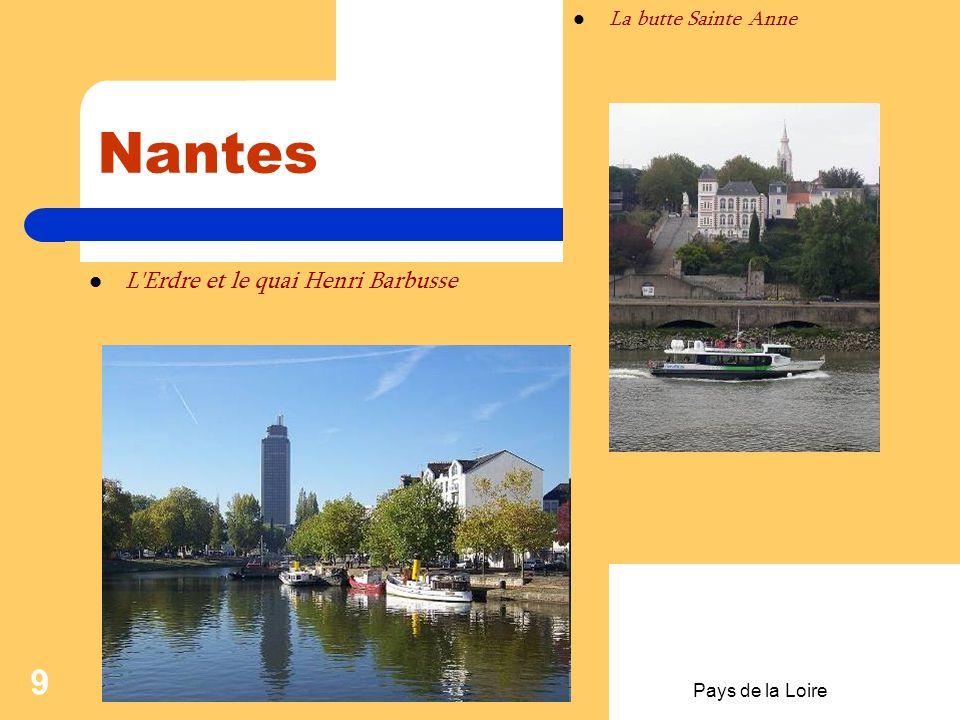 Pays de la Loire 8 Nantes-aspects de la ville Pont de Pirmil, reliant le quartier Saint-Jacques avec le reste de la ville. Immeuble du centre ville s'
