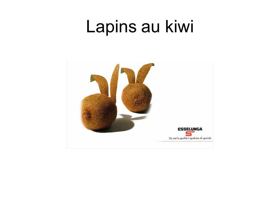 Lapins au kiwi