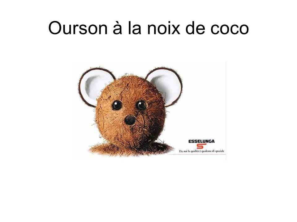 Ourson à la noix de coco