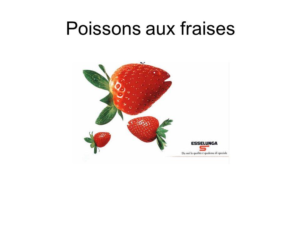 Poissons aux fraises