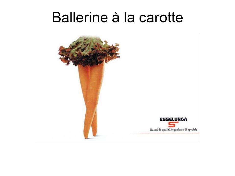 Ballerine à la carotte