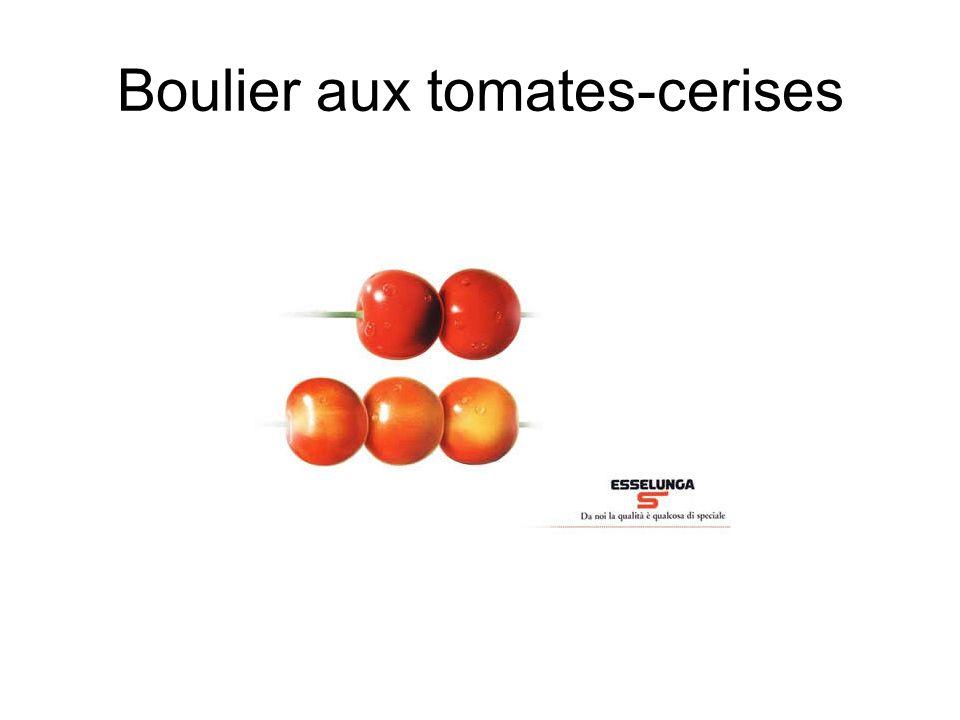 Boulier aux tomates-cerises
