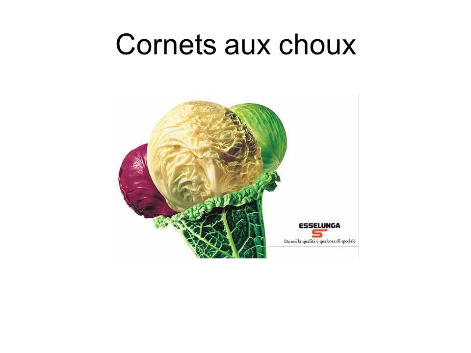 Cornets aux choux