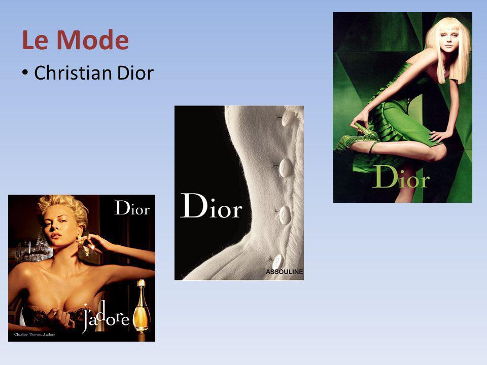 Le Mode Christian Dior