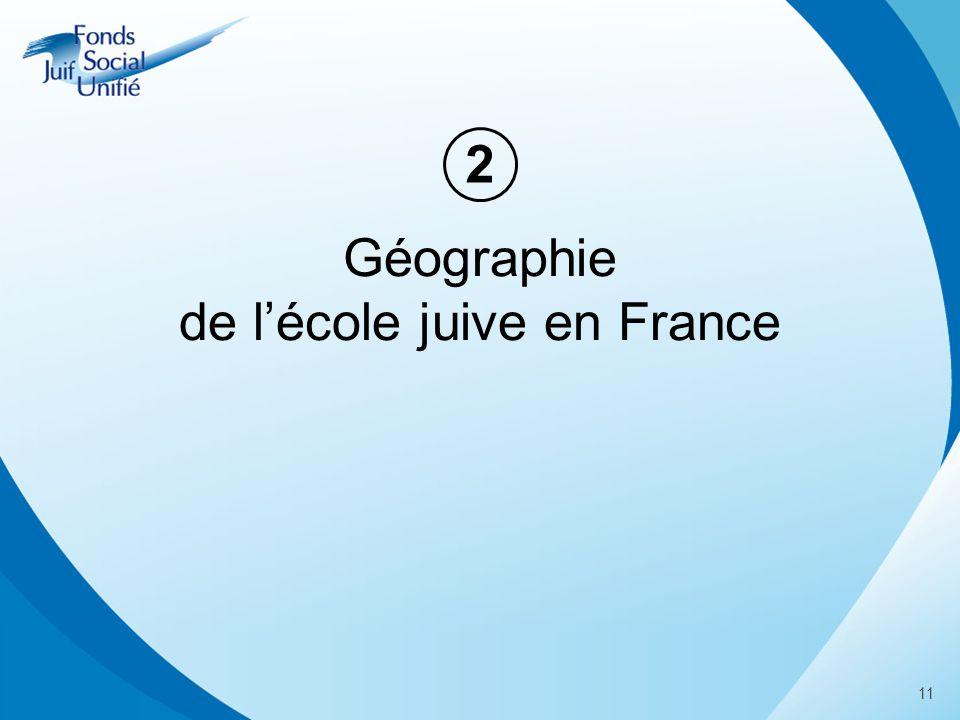 Géographie de lécole juive en France 2 11