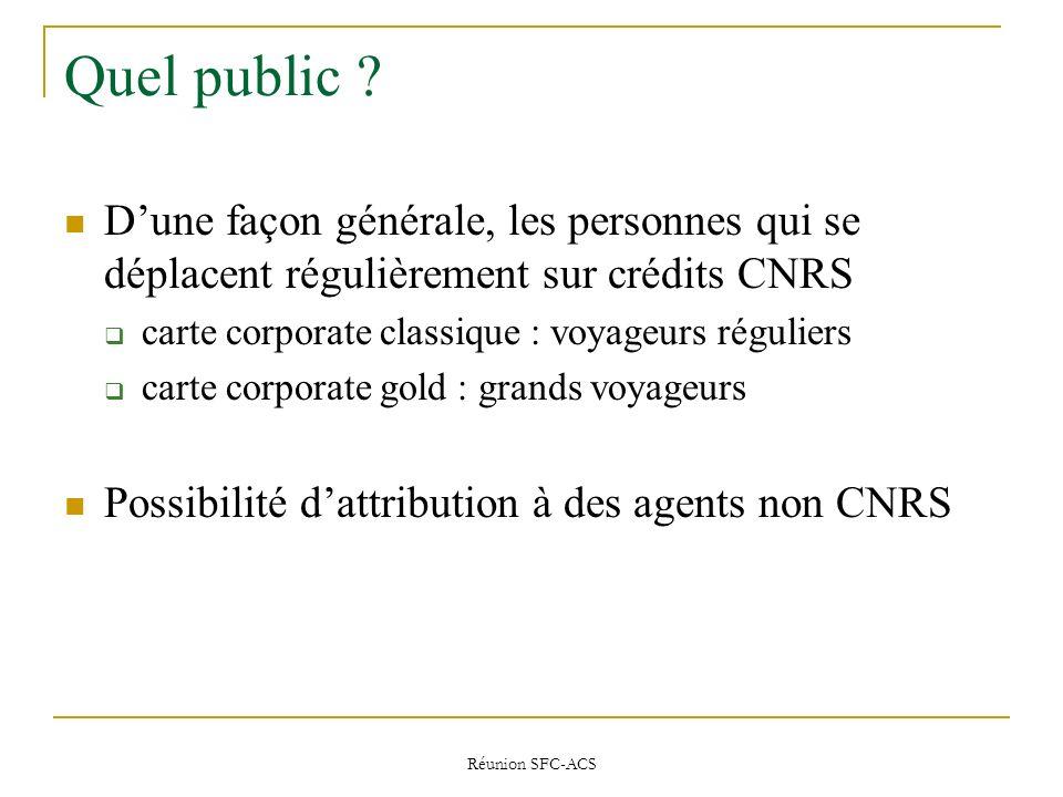 Réunion SFC-ACS Quel public .