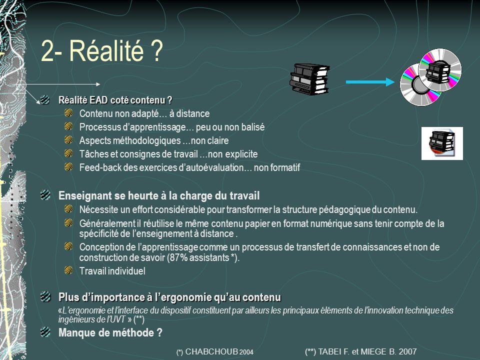 7- Difficultés 1/2 Conception de la carte conceptuelle Un contenu = plusieurs profs = différentes carte ?.