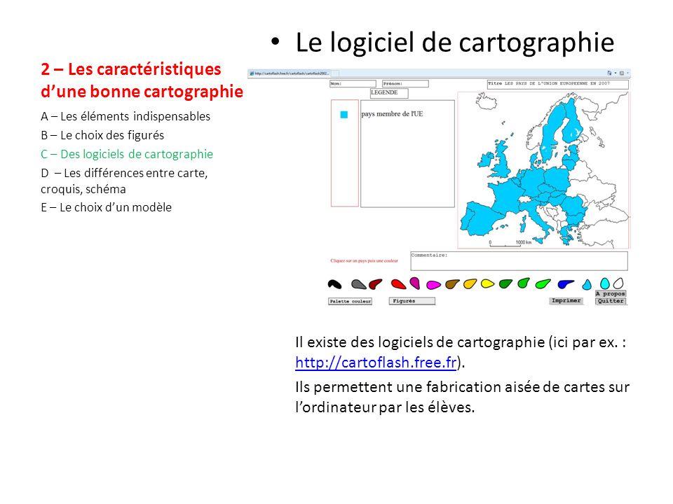 2 – Les caractéristiques dune bonne cartographie Le choix des figurés Quel figuré choisir pour comparer les taux de chômage dans les pays de lUE (Le Monde du 23/04/09) .