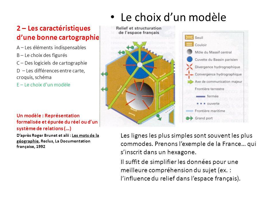2 – Les caractéristiques dune bonne cartographie Carte .