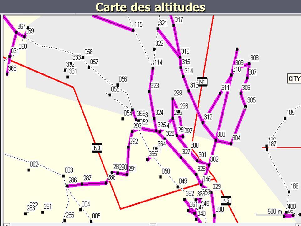 Carte de localisation spatiale