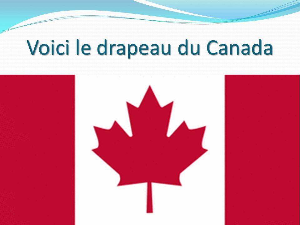 Voici le drapeau du Canada 18
