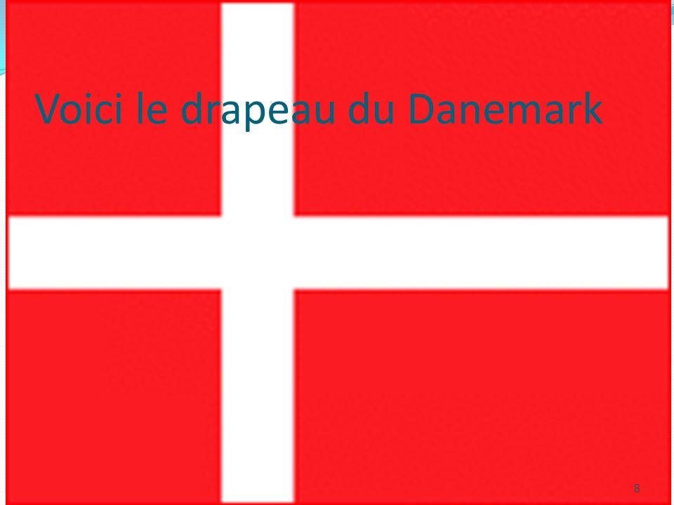 Voici le drapeau du Danemark 8