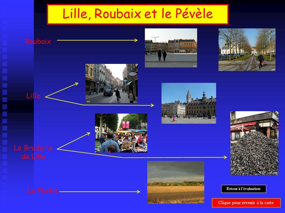 Lille, Roubaix et le Pévèle Lille La Braderie de Lille Roubaix Le Pévèle Clique pour revenir à la carte Retour à lévaluation