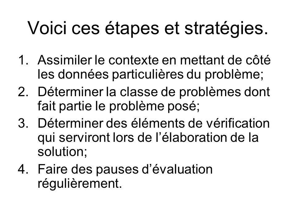 Voici ces étapes et stratégies.