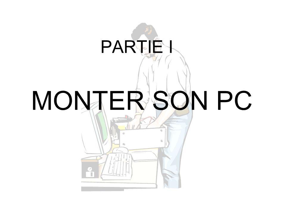 PARTIE I MONTER SON PC