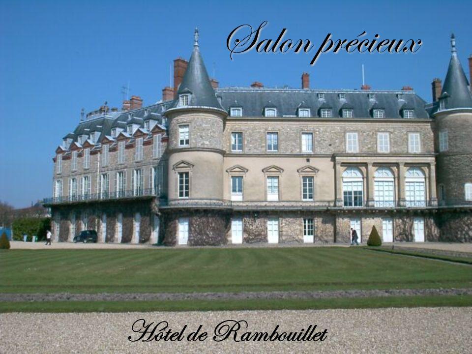 Salon précieux Hôtel de Rambouillet