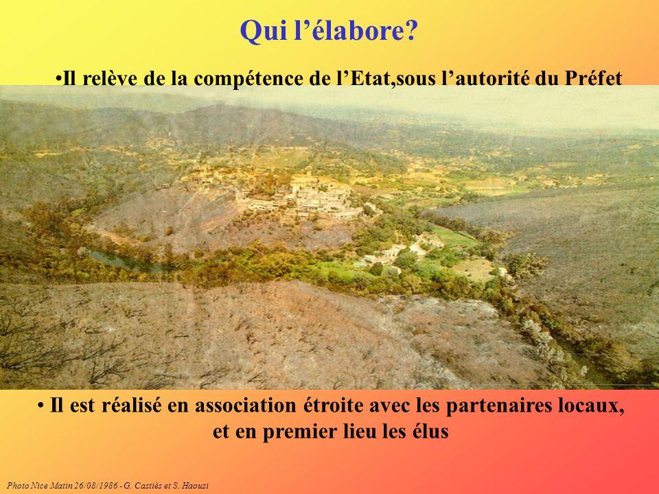 Il est réalisé en association étroite avec les partenaires locaux, et en premier lieu les élus Photo Nice Matin 26/08/1986 - G. Castiès et S. Haouzi Q