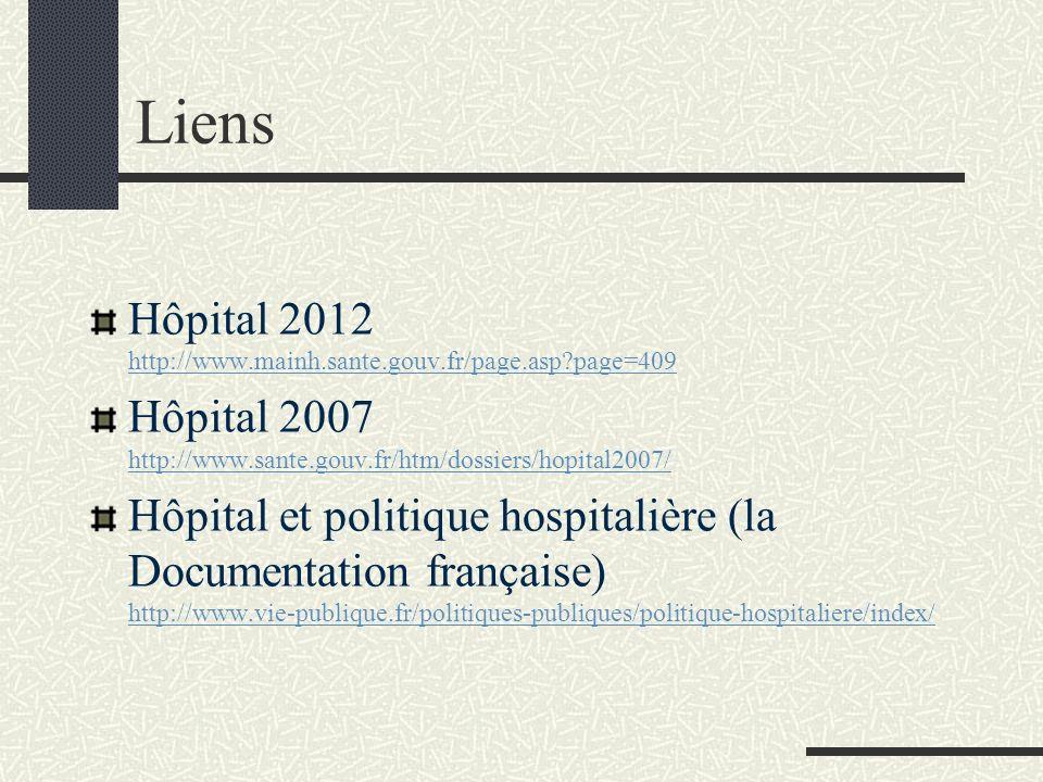 7. Les plans hospitaliers Hôpital 2007 : T2A, complémentarité, nouvelle gouvernance, investissement, Mission nationale dappui à linvestissement hospit