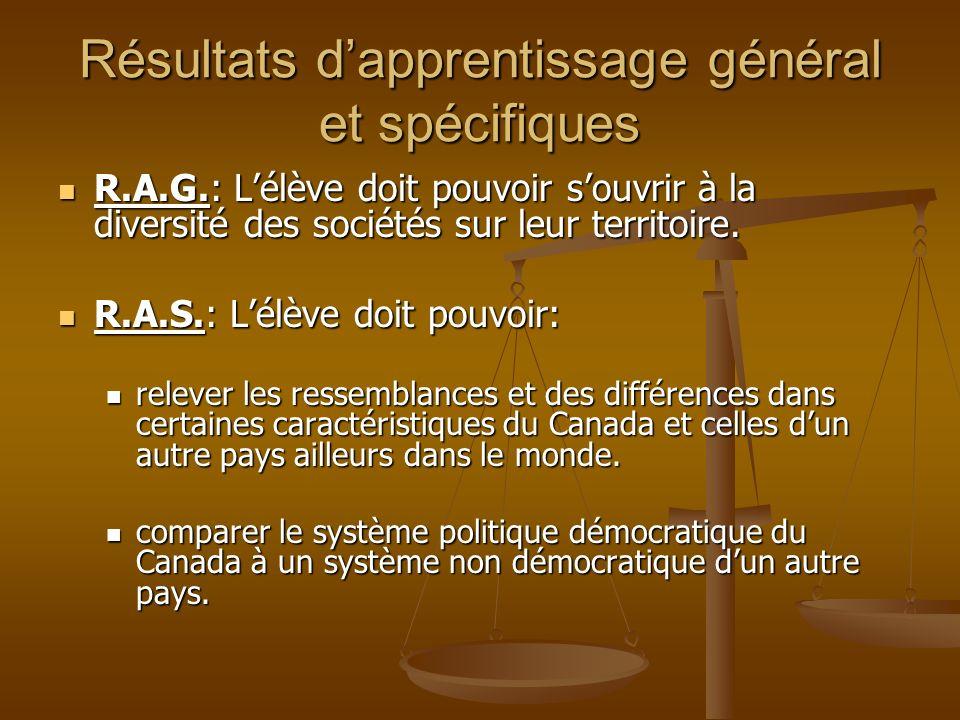 Système politique canadien Connaissez-vous le système politique canadien.
