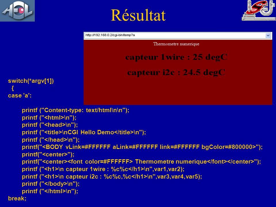 switch(*argv[1]) { case 'a': printf (