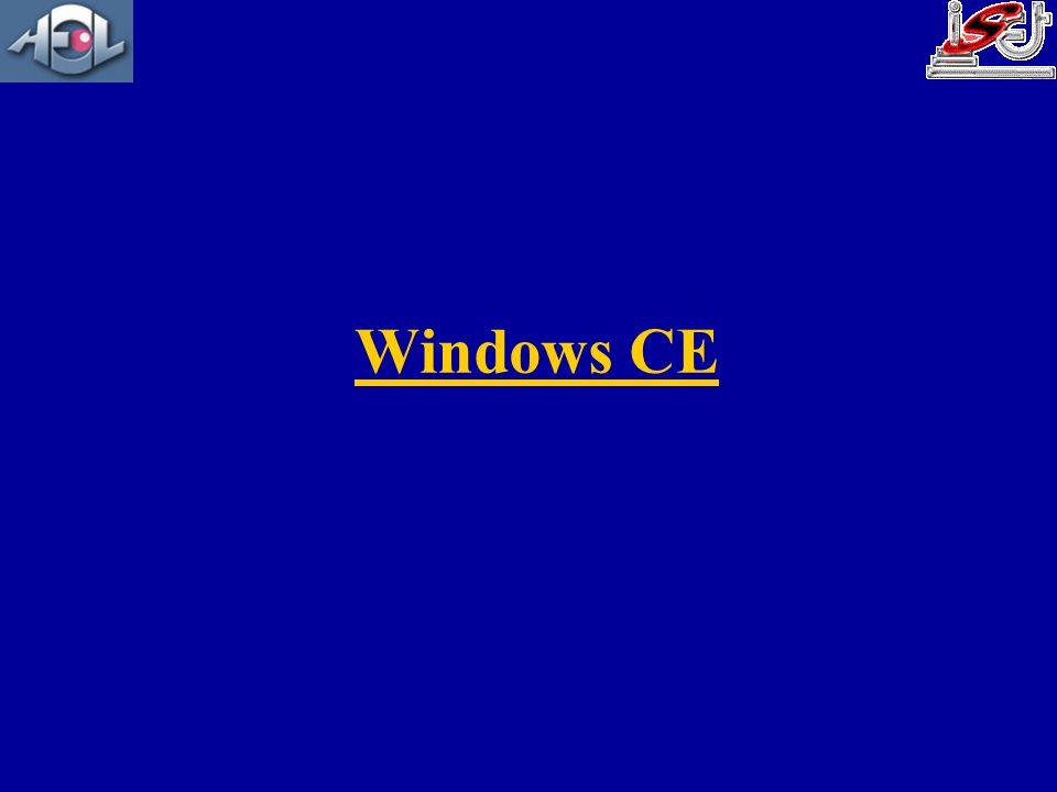 Historique CE 20002001200219991998200320041997 1996 CE 2.11 CE 2.12 CE 3.0 CE.net 4.0 CE.net 4.1 CE.net 4.2 CE 5.0 CE 1.0 CE 2.0 Temps réel PB 3.0 eVC & eVB 3.0 PB 4.0 eVC 4.0 CE 6.0 2006