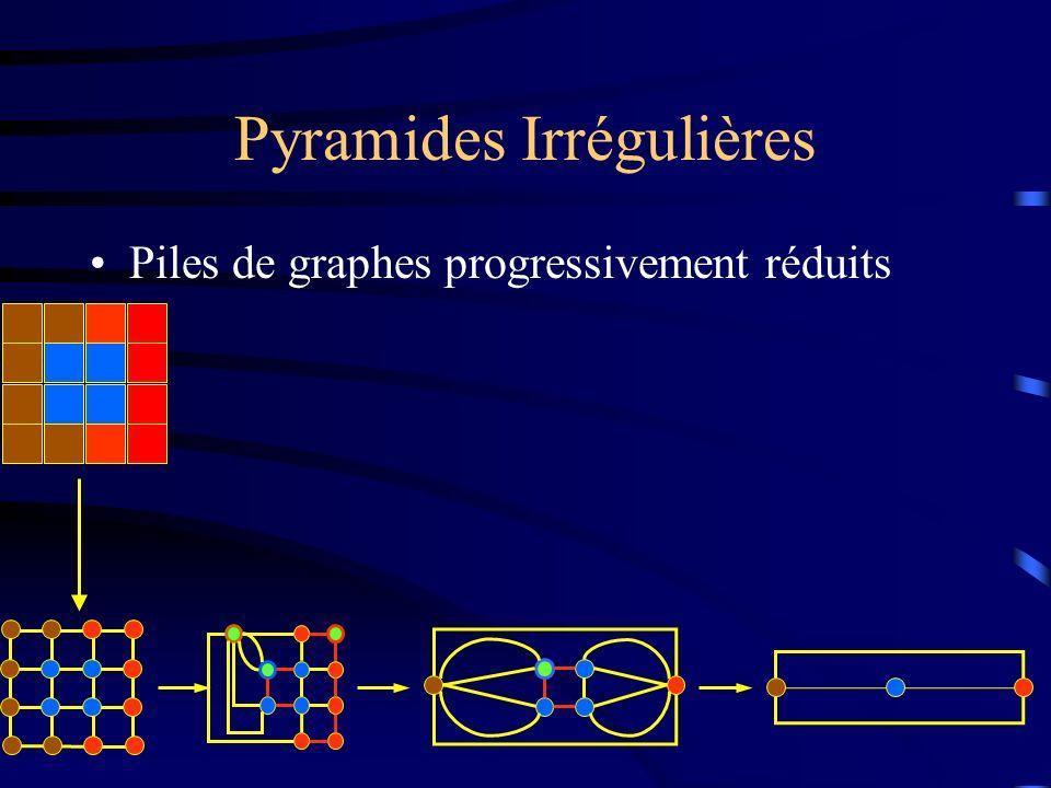 Pyramides Irrégulières Piles de graphes progressivement réduits