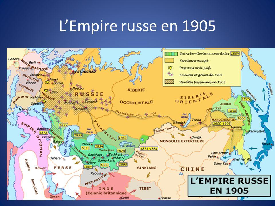 LEmpire russe en 1905