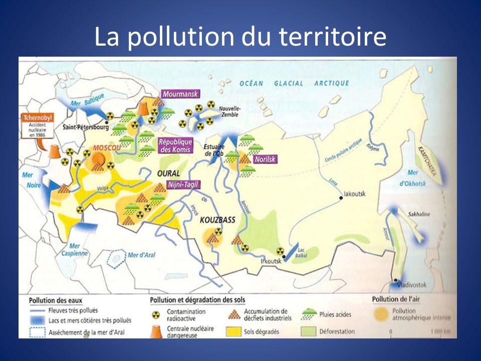 La pollution du territoire