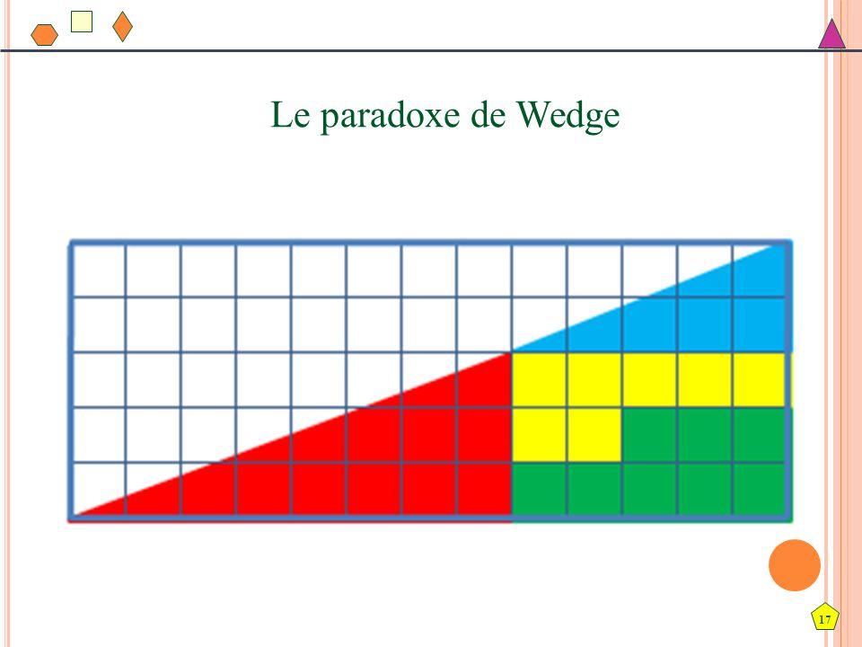 17 Le paradoxe de Wedge