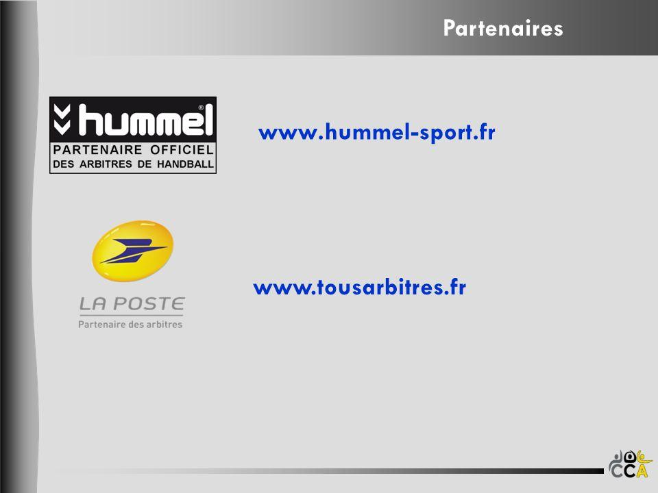 www.hummel-sport.fr www.tousarbitres.fr Partenaires