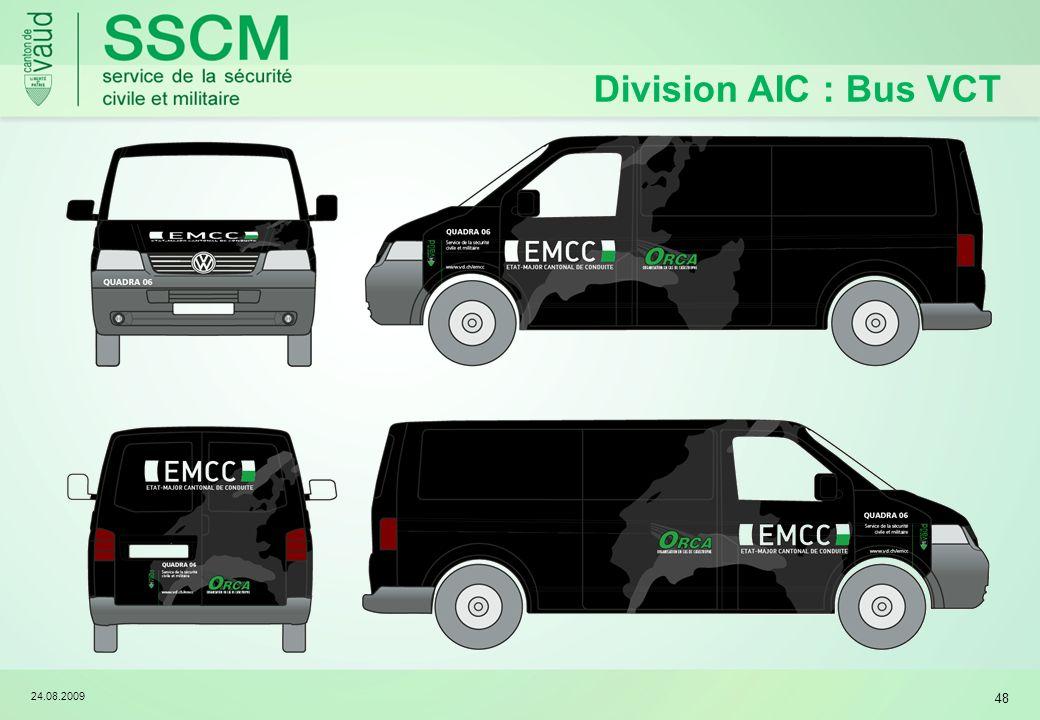 24.08.2009 48 Division AIC : Bus VCT