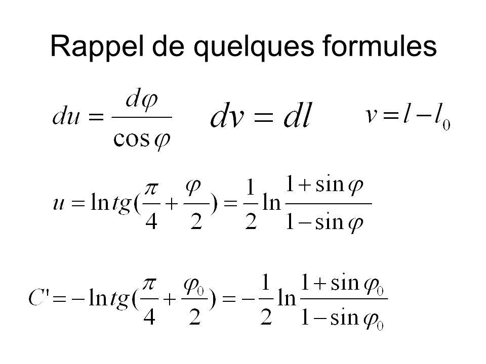 Déformation moyenne et déformation maximum Def.Max L Def.
