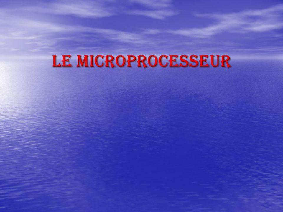 élaboré par Mme rezig2 Le processeur (microprocesseur) est le composant hardware le plus connu d un ordinateur.