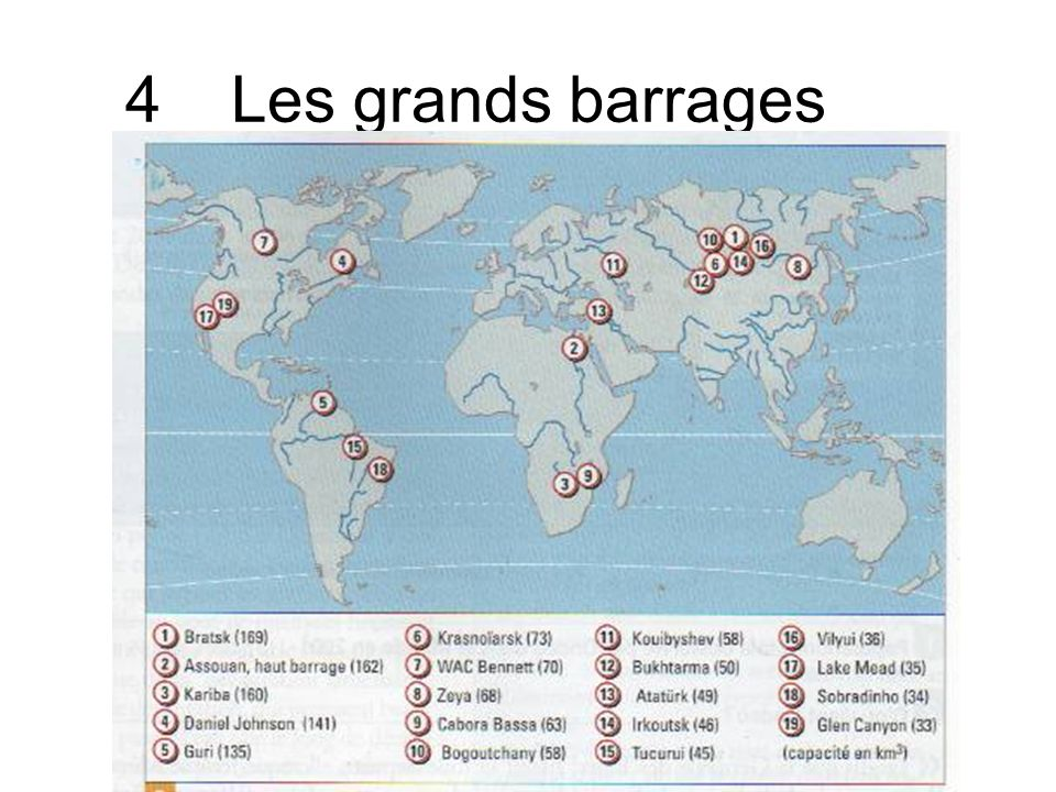 4Les grands barrages
