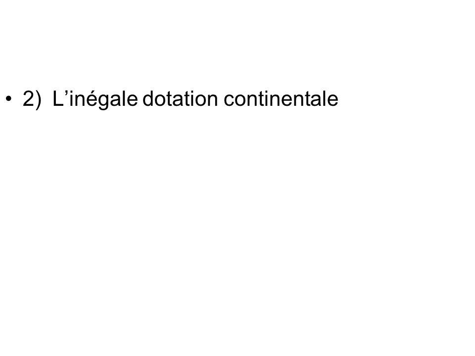 4Les capacités territoriales de « production hydraulique » très inégales I.P.E de Wallingford ( R.U): indice de pauvreté en eau.