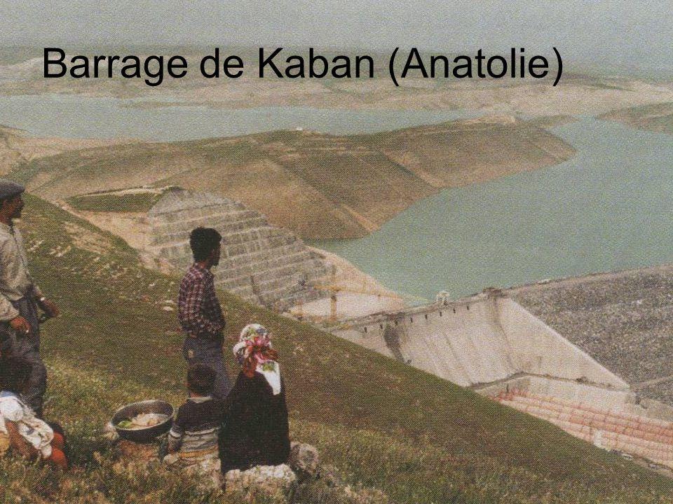 Barrage de Kaban (Anatolie)