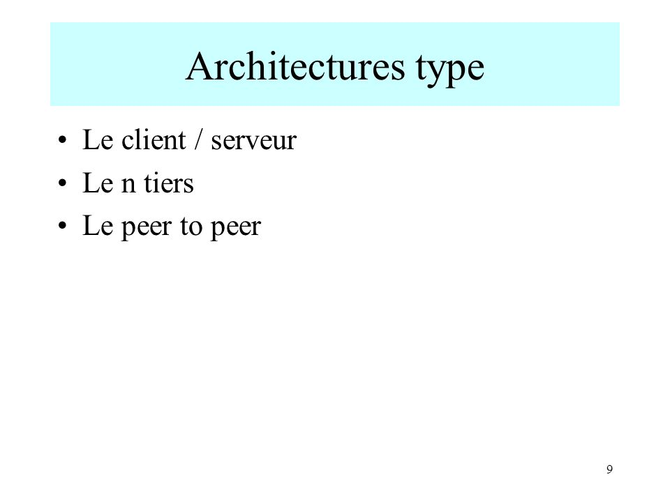 10 Le client /serveur Les ressources réseau sont centralisées.