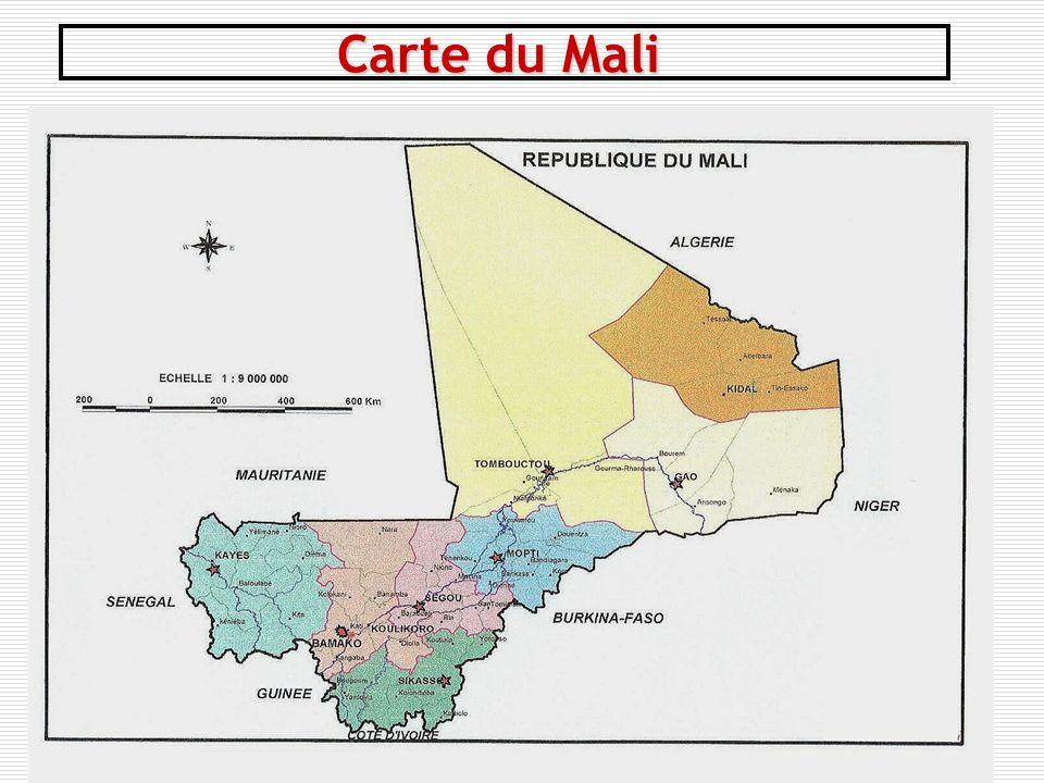 4 Carte du Mali