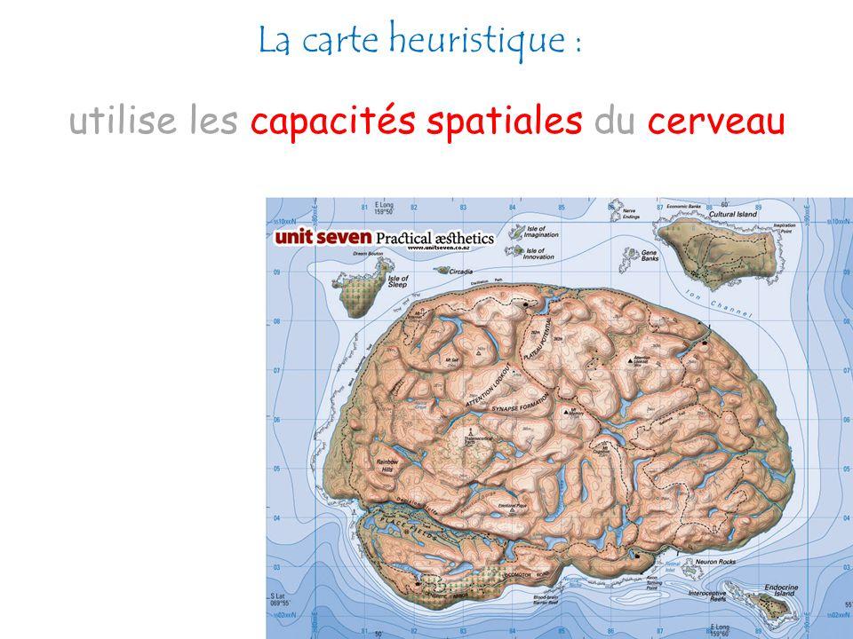 La carte heuristique : utilise les capacités spatiales du cerveau