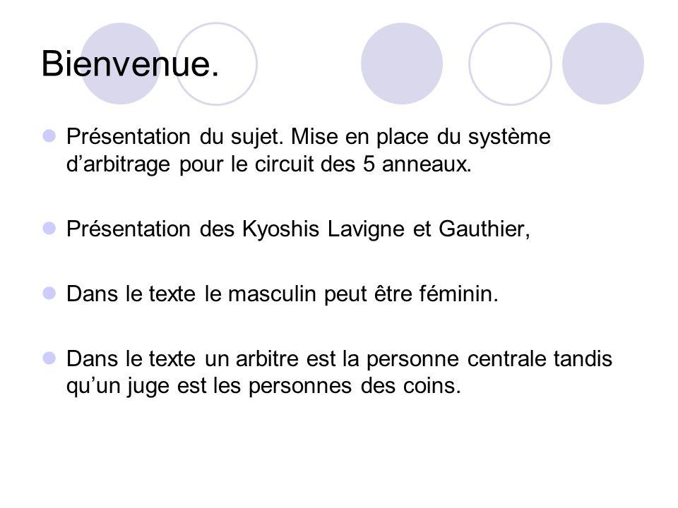 Rôles et responsabilité.Kyoshi Gilles Lavigne et Kyoshi Marcel Gauthier.