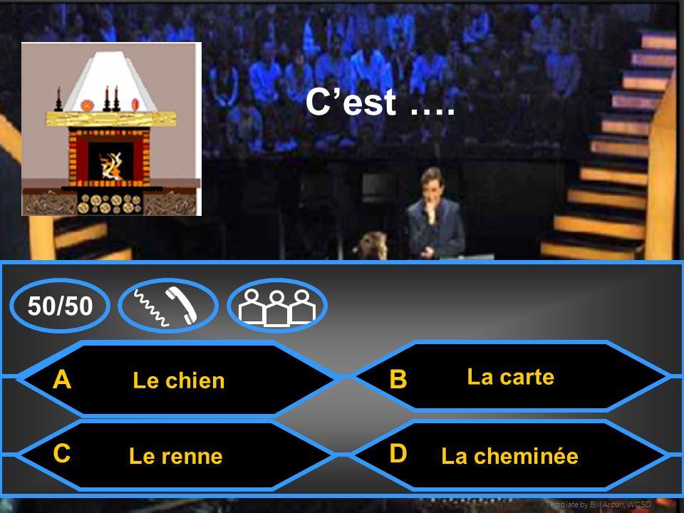 Template by Bill Arcuri, WCSD Le cheval Cest … Le chatLe Père Noël Le renne A CD B 50/50