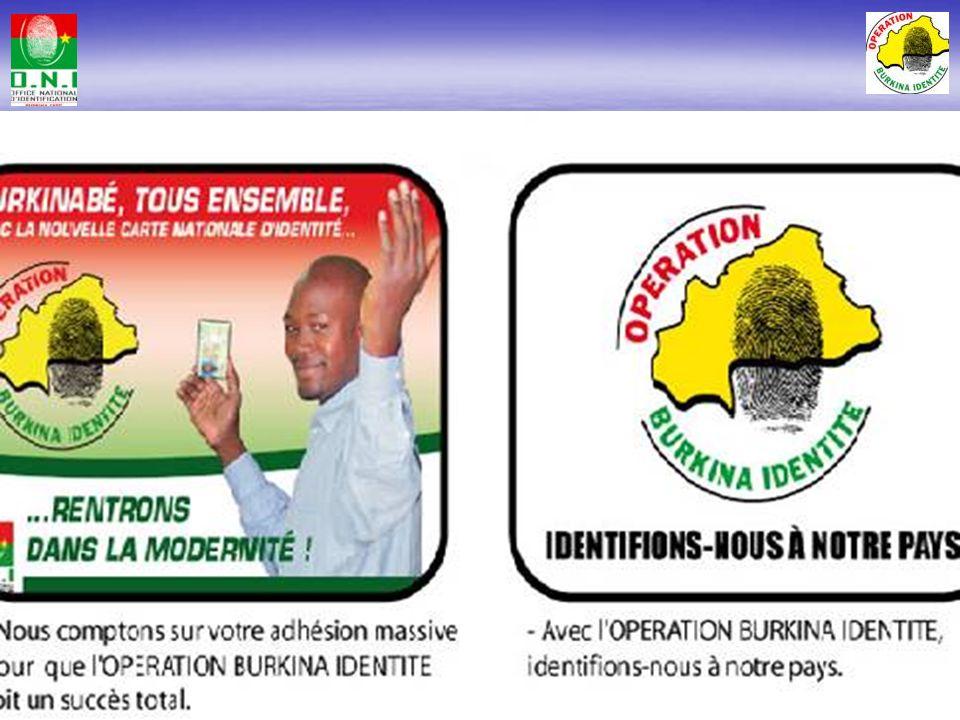Stratégie de communication pour : – Informer la population sur lopération – Obtenir ladhésion de la population – Permettre à la population dy particip